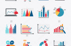 stock-vector-business-data-market-elements-dot-bar-pie-charts-diagrams-and-graphs-flat-icons-set-isolated-vector-234267106