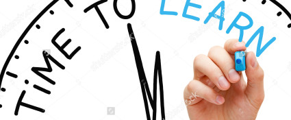 stock-photo-hand-writing-time-to-learn-concept-with-blue-marker-on-transparent-wipe-board-130940975